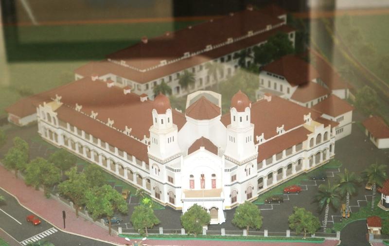Bangunan Cagar Budaya Lawang Sewu, Semarang, Masih Menyisakan Misteri