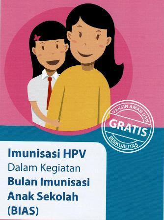 Lindungi Putri Anda Dari Bahaya Penyakit Kanker Serviks Dengan Imunisasi HPV