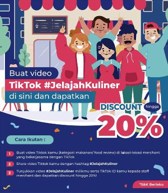 TikTok Dukung Kuliner Nusantara dengan Luncurkan JelajahKuliner