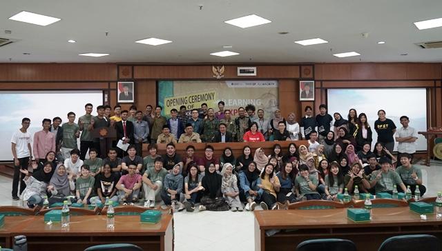 UMY Gelar KKN Internasional Dua Pekan Di Dusun Beteng, Kulon Progo