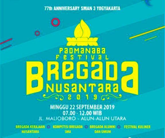Pawai Festival Bregada Nusantara Melintasi Malioboro, Ahad, Jam 7 Pagi, 22 September 2019