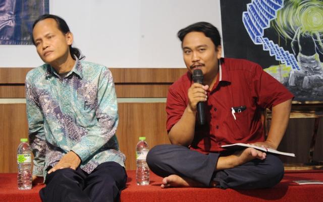 Bincang-Bincang Sastra Di Taman Budaya Yogyakarta Dipenuhi Generasi Millenial