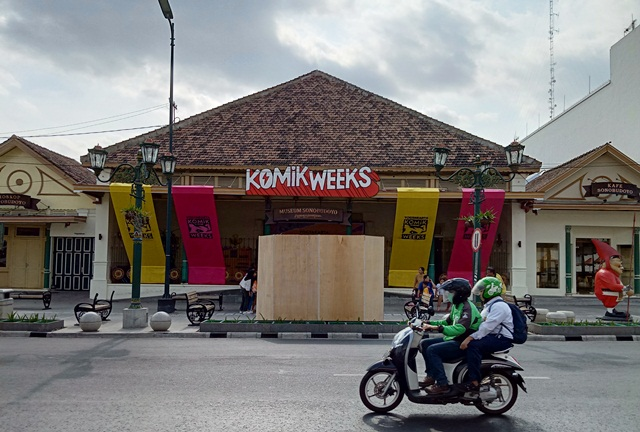 Yogyakarta Komik Weeks Berlangsung Di Museum Sonobudoyo, 8-21 Oktober 2019.