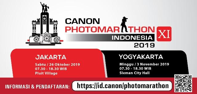 Kompetisi Fotografi Canon PhotoMarathon Indonesia, Di Sleman City Hall, 3 November 2019