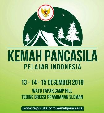Kemah Pancasila Pelajar Indonesia Di Tebing Breksi Yogyakarta, 13-15 Desember 2019