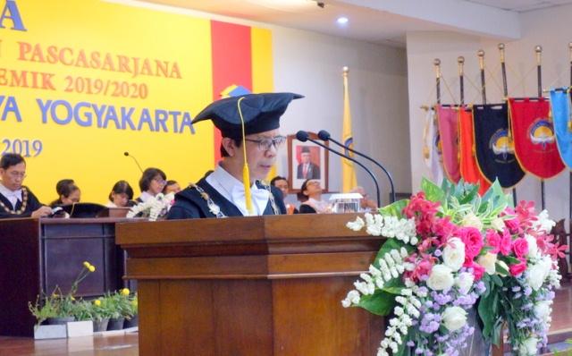 Wisuda Universitas Atma Jaya Yogyakarta, Saatnya Generasi Muda Berperan Mencerdaskan Bangsa