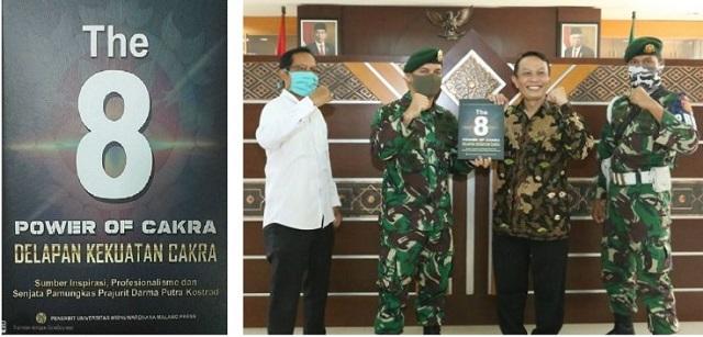 UIN Sunan Kalijaga Terima Buku Delapan Kekuatan Cakra, Karya Pangkostrad Harto Karyawan