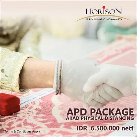 Hotel Horison Urip Sumoharjo Yogyakarta Luncurkan Paket APD, Akad Physical Distancing Di Era New Normal