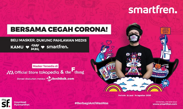 Smartfren Kolaborasi Bareng Konten Kreator Muda dan BenihBaik.com, Bantu Pahlawan Medis