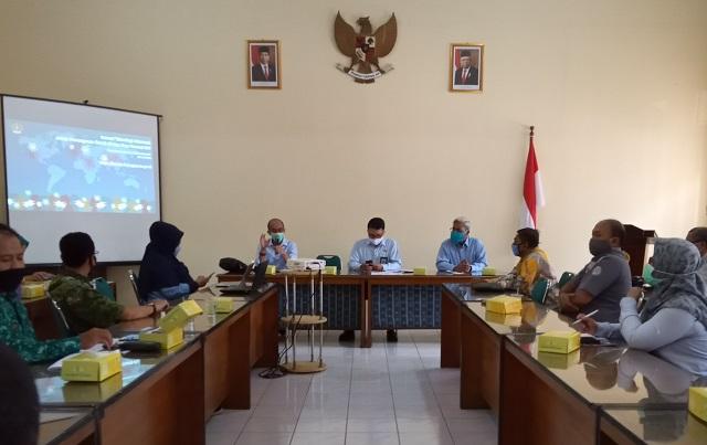 Dinas Pariwisata Daerah Istimewa Yogyakarta Gelar Evaluasi Hasil Monitoring dan Pendampingan Destinasi Di Era New Normal