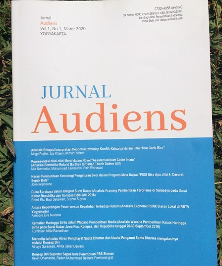 Program Studi Ilmu Komunikasi Universitas Muhammadiyah Yogyakarta Terbitkan Jurnal Audiens, Pertama Di Indonesia