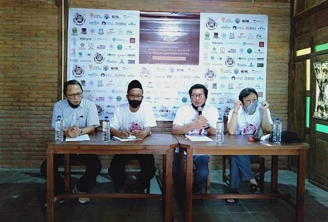 Konggres Kebudayaan Desa Di Kampoeng Mataraman, Panggungharjo, Sewon, Bantul, Yogyakarta, Kamis, 25 Juni 2020