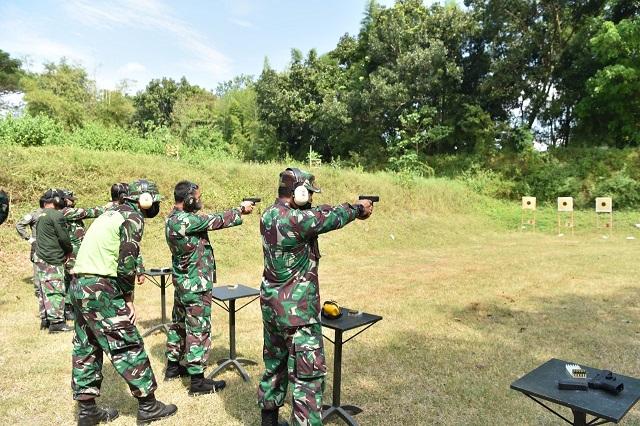 Latihan Menembak Semester II Lanud Adisutjipto Yogyakarta