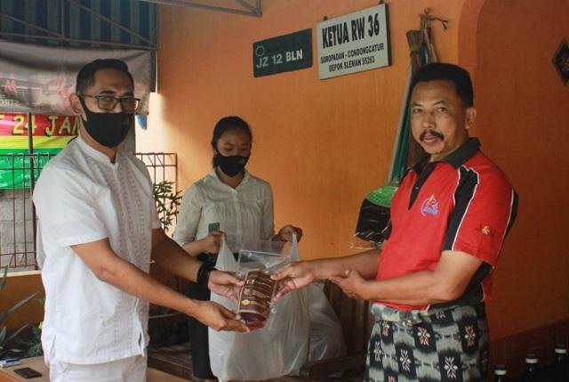 Grand Keisha Hotel Yogyakarta Peduli Warga Sekitar