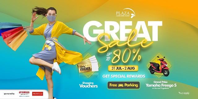 Plaza Ambarrukmo Yogyakarta, Gelar Great Sale Tiga Hari, 31 Juli - 2 Agustus 2020, Pesta Diskon Up To 80%