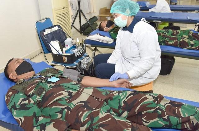 Aksi Sosial Donor Darah Mewarnai Hari Bakti ke-73 TNI AU, 2020