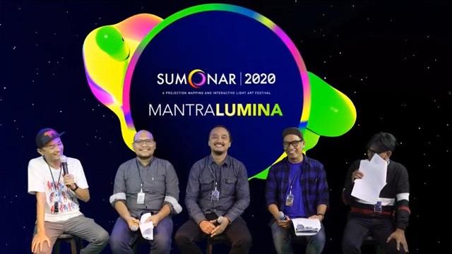 Festival Seni Cahaya Internasional Secara Virtual Di Yogyakarta, SUMONAR 2020, 5-13 Agustus 2020