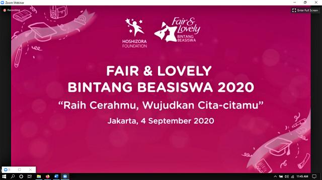 Fair and Lovely Konsisten Cerahkan Pendidikan Indonesia Melalui Dukungan Beasiswa Pendidikan