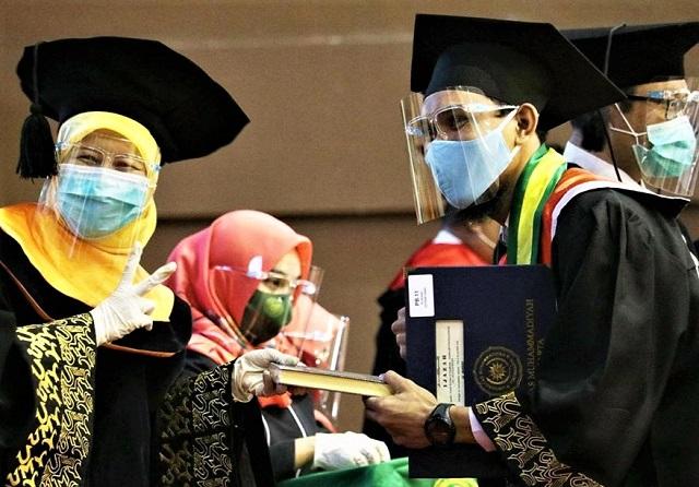 Universitas Muhammadiyah Yogyakarta Gelar Wisuda Secara Luring dan Daring, Perketat Protokol Kesehatan