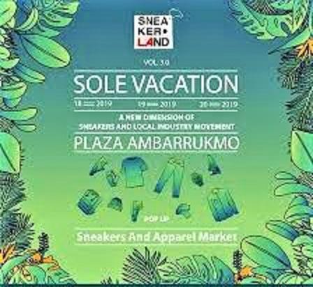 Solevacation 5.0, Festival Sneaker Populer di Plaza Ambarrukmo Yogyakarta, 17-20 September 2020