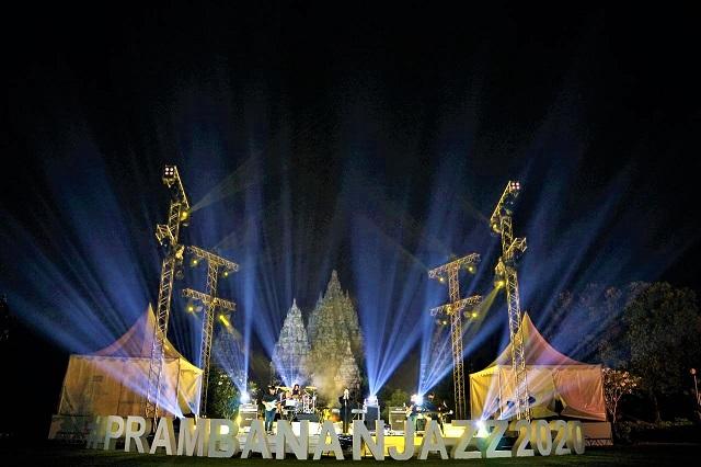 Prambanan Jazz Virtual Festival 2020, Konser Live Streaming Durasi Terpanjang Di Candi Prambanan