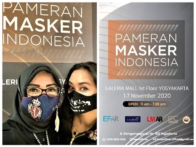 Memilih Masker Kreasi Disainer IFC Sambil Ngopi Di Galeria Mall Yogyakarta
