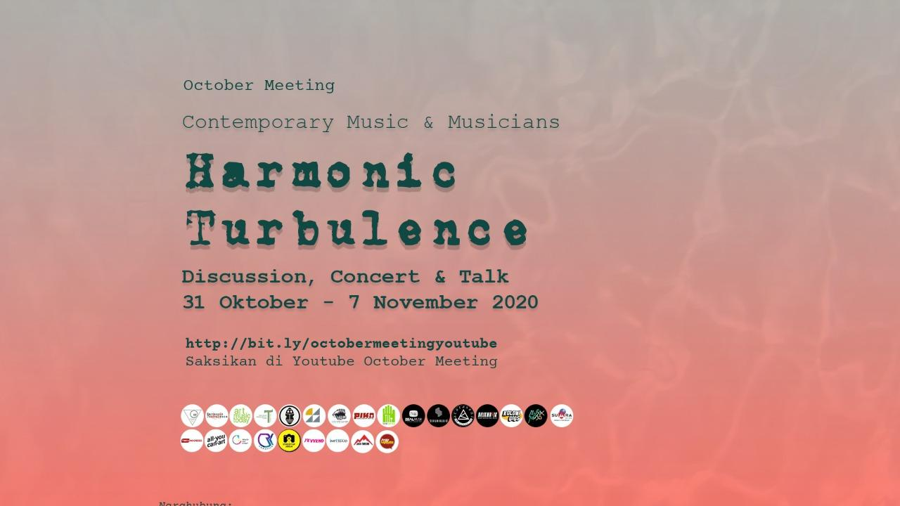October Meeting, Contemporary Music and Musicians 2020 via Live Daring dan Video Tapping