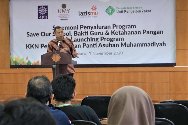 Universitas Muhammadiyah Yogyakarta Luncurkan KKN Pengabdian Panti Asuhan