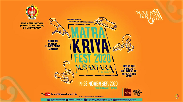 Matra Kriya Festival Digelar Offline Di Pendhapa Art Space Dongkelan-Bantul, Yogyakarta, 14-23 November 2020