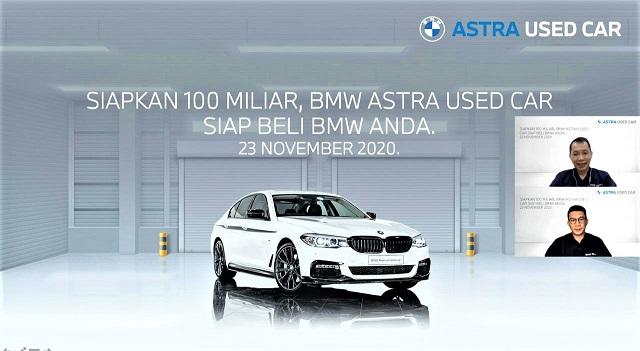 BMW Astra Used Car Siapkan 100 Miliar, Siap Beli BMW Anda