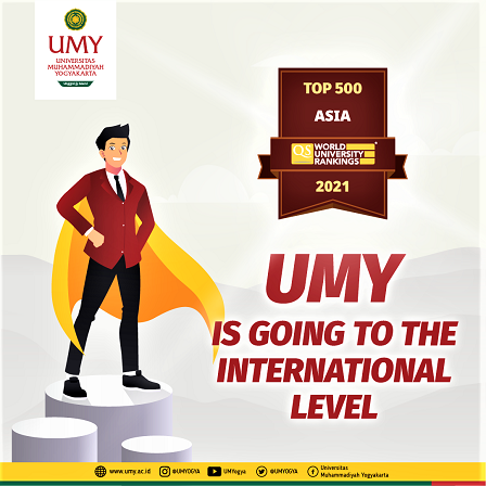 Universitas Muhammadiyah Yogyakarta Masuk 500 Universitas Terbaik Se-Asia, Versi QS World University Rankings