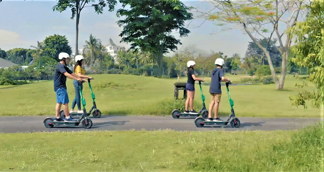 Hyatt Regency Yogyakarta Yang Pertama Punya Fasilitas E-Scooter GrabWheels