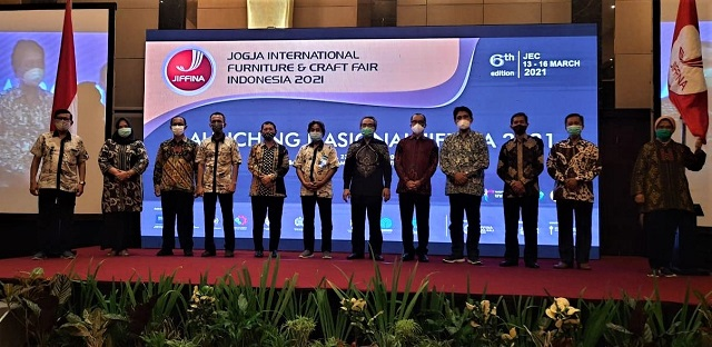 Jiffina -Jogja International Furniture and Craft Fair Indonesia, 13-16 Maret 2021, Targetkan Enam Ribu Pengunjung