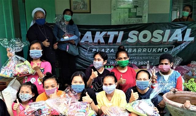 Tali Kasih Plaza Ambarrukmo Yogyakarta Di Akhir Tahun, Teruntuk Anak-Anak Panti Asuhan