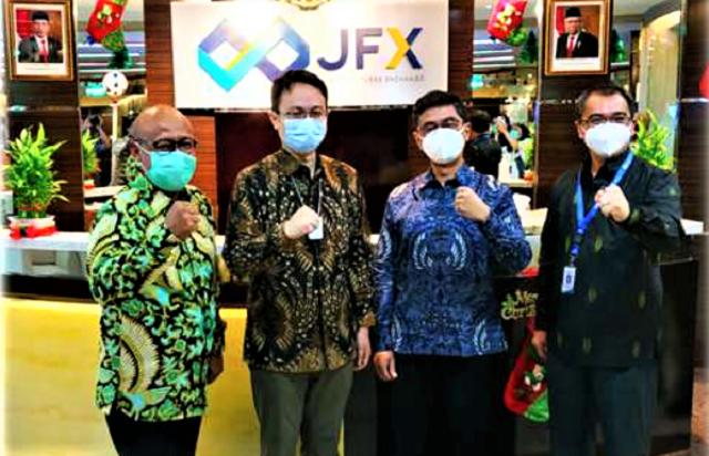 Pembukaan Perdagangan Bursa Berjangka Jakarta Hari Pertama Tahun 2021