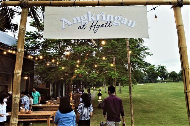 Sensasi Angkringan Jogja Berkualitas Bintang Lima, Di Hyatt Regency Yogyakarta