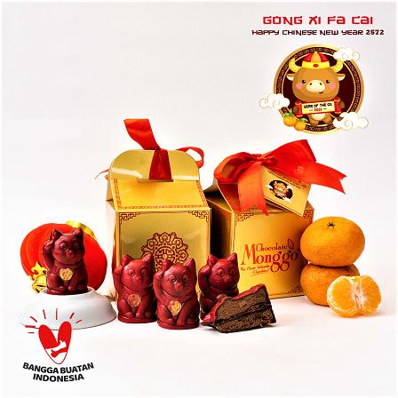 Cokelat Monggo, Sajikan Produk Spesial Edisi Imlek dan Valentine 2021