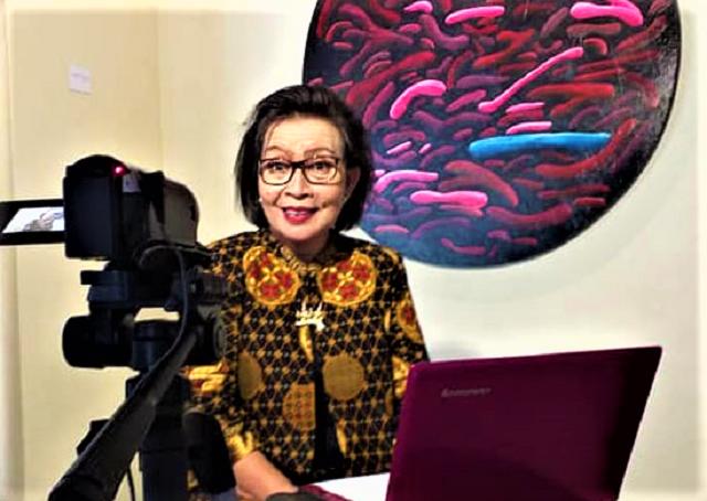 Maria Kadarsih, Bagikan Ilmu Cara Mudah Menulis Sandiwara Radio Via Channel YouTube Ons TV