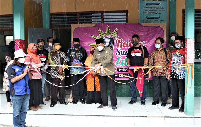 Universitas Muhammadiyah Yogyakarta Luncurkan Radio Suara Edukasi SD Muhammadiyah Penggung-Kulon Progo