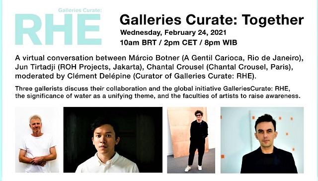 Dialog Virtual Galleries Curate Together, Pameran Kolaborasi Global, Paris-Perancis