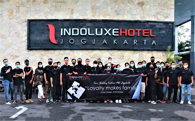 Indoluxe Hotel Jogjakarta Gelar Fun Outing, Loyalty Makes Family