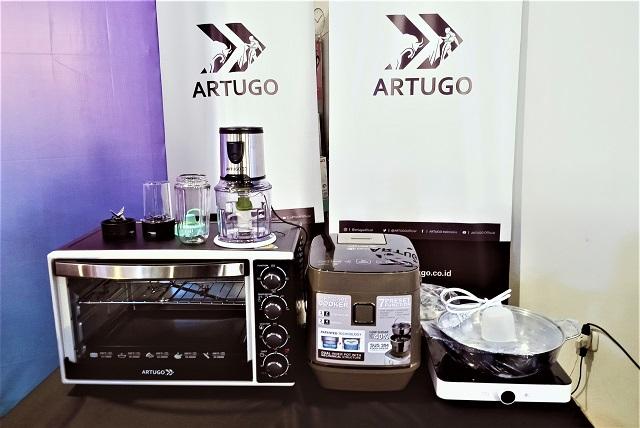 ARTUGO, Brand Aseli Indonesia, Dukung UMKM, Luncurkan Piranti Dapur Istimewa,