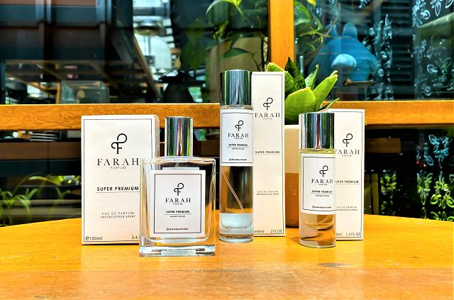 Farah Parfum, Produk Lokal Non Metanol, Tersertifikasi BPOM