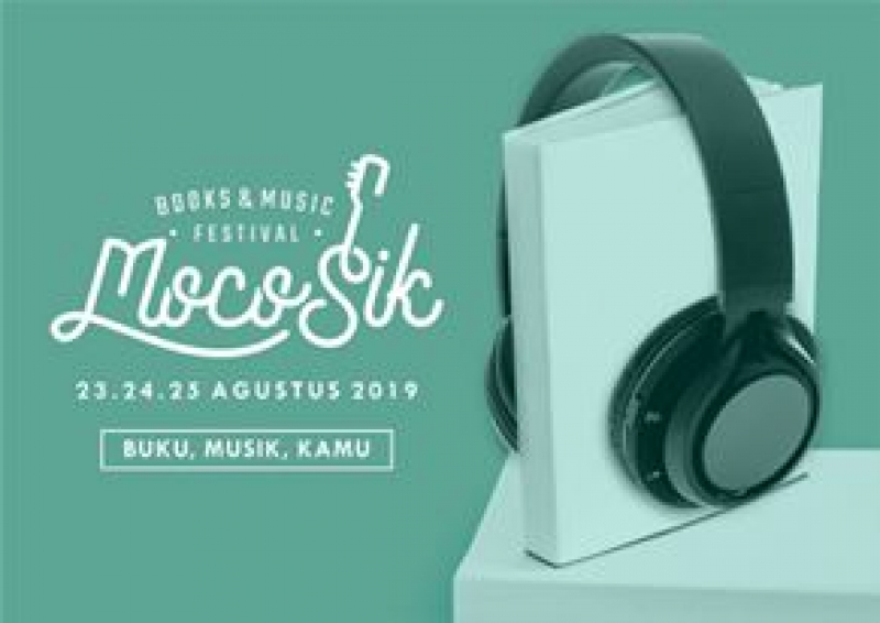 Satu Juta Eksemplar Buku Dipamerkan Dalam MocoSik, Di JEC 23-25 Agustus 2019.