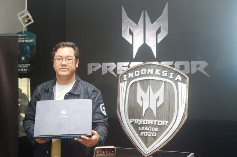 Acer Luncurkan Laptop Gaming Tipis, Predator Triton 300, Seiring Dengan Ajang Prestisius eSport, Asia Pacific Predator League 2020