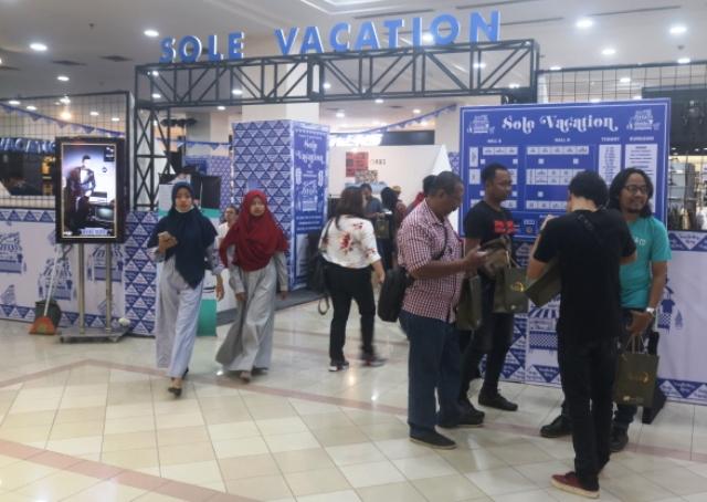 Solevacation 2.0 Berlangsung Di Hall Lantai 2 Plaza Ambarrukmo Yogyakarta