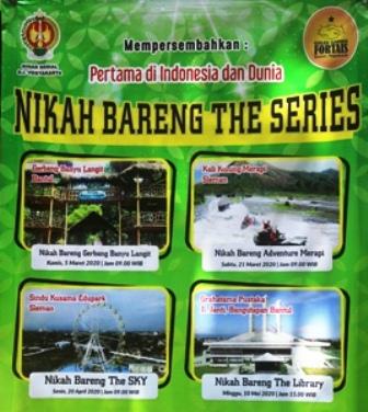 Nikah Bareng The Series, Wisata Eksperienses Pertama Di Indonesia Bahkan Di Dunia