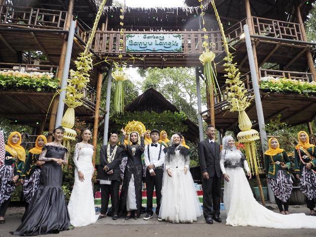 Nikah Bareng Gerbang Banyu Langit, Di Hari Musik Nasional dan Jogja Heboh, Harmoni Cinta Untuk Indonesia Maju.
