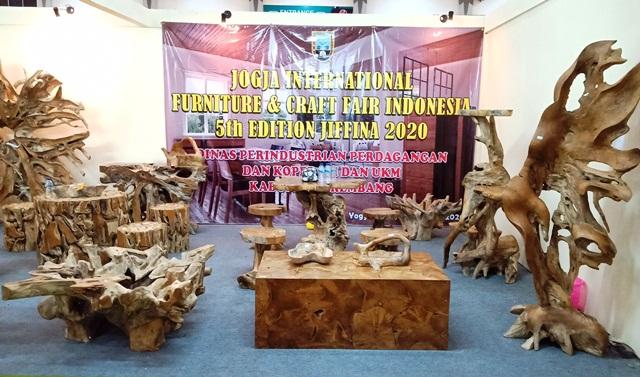 Ditengah Situasi Tak Menentu, Jogja International Furniture and Craft Fair, JIFFINA, 14-17 Maret 2020, Bisa Membukukan Transaksi Sebesar 38,5 juta US $.