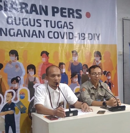 Siaran Pers Gugus Tugas Penanganan dan Pencegahan Covid-19 Daerah Istimewa Yogyakarta, Rabu, 1 April 2020.